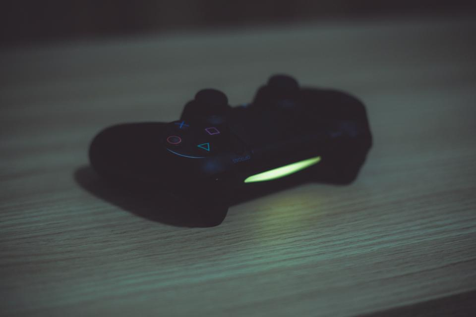 playstation controller video games gaming objects