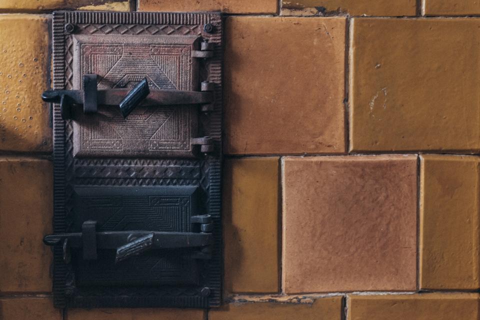 tile, steel, metal, stove, lock