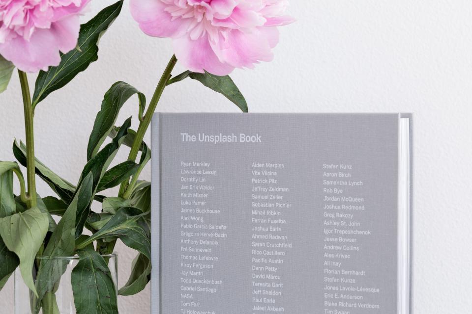 unsplash book list flower pink petal glass vase