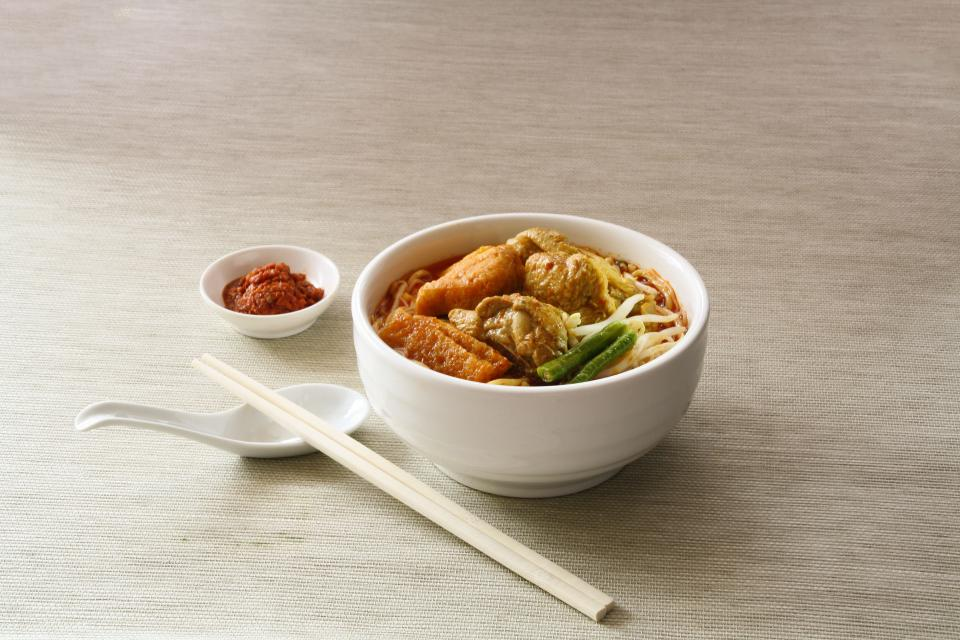 food noodle soup chili sauce bowl chopsticks breakfast lunch dinner