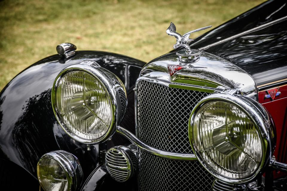 car grill automotive vintage oldschool