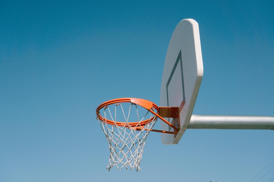 sports, basketball, hoops, ring, sky, board