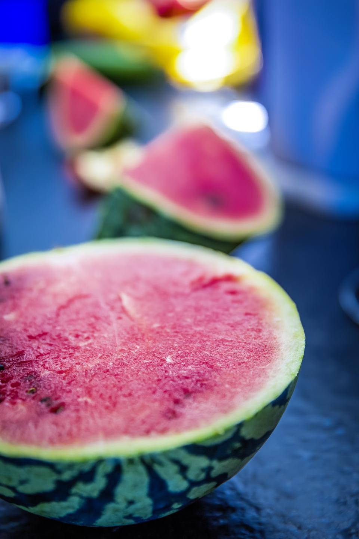 watermelon, fruit, red, green, fresh, juicy, health, food, blur