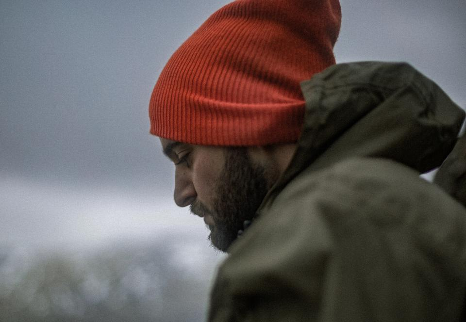bonnet, people, man, emotional, face, jacket, close up, alone, sad
