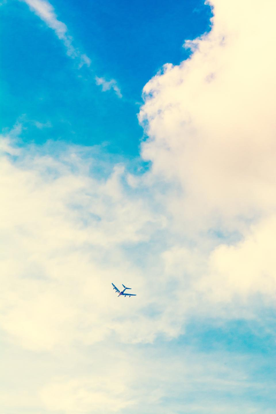 airplane, travel, adventure, plane, vacation, trip, transportation, vehicle, clouds, sky