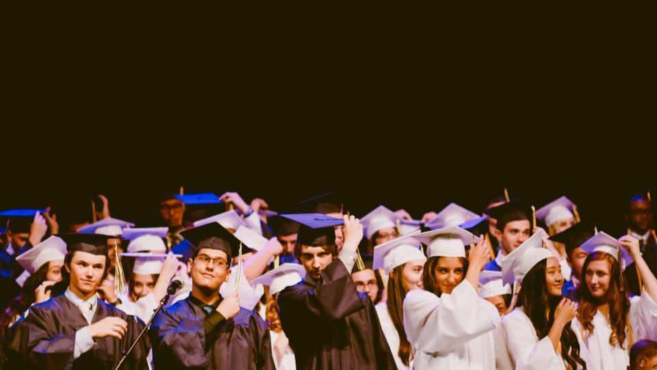 people men women graduation school university college students academic