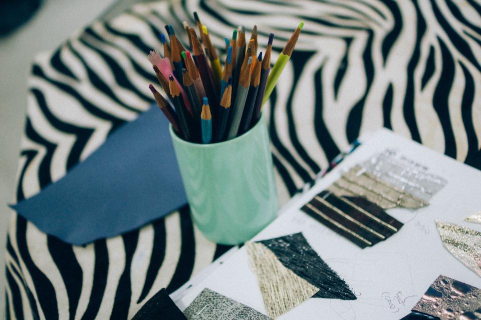 pencil crayons arts crafts