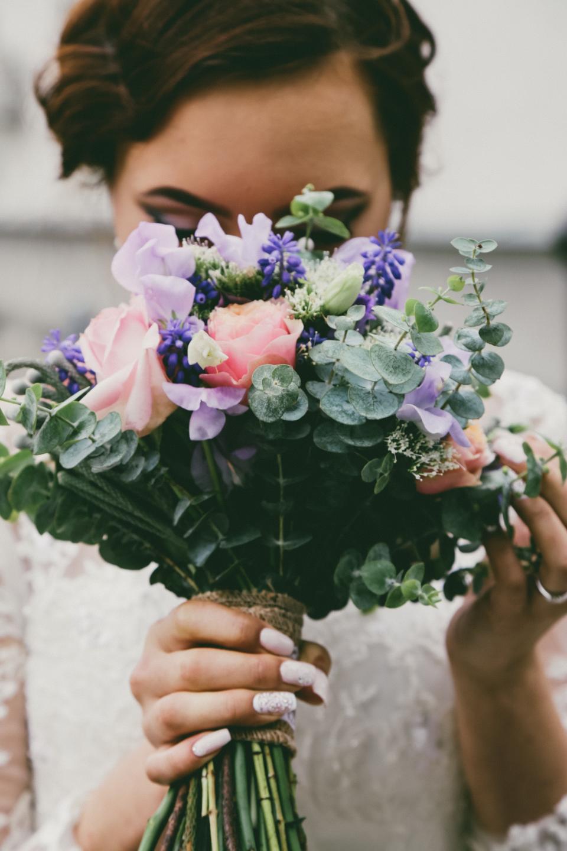 people, woman, bride, wedding, gown, flower, bouquet, blur