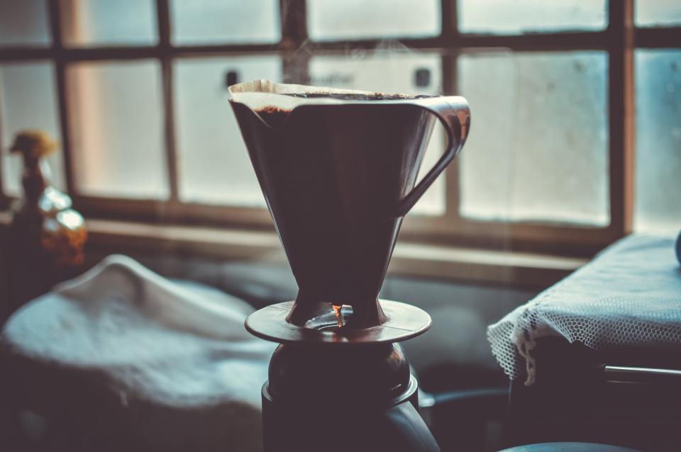 silhouette coffee café kitchen window ground coffee coffee maker brewed coffee