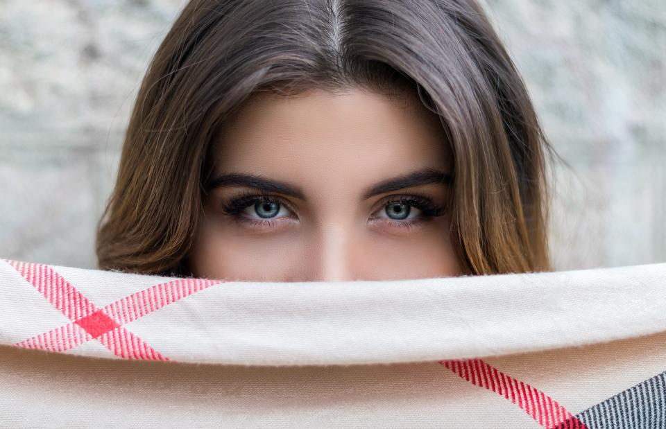 people, woman, eyes, blue, eyebrows, beauty, skin