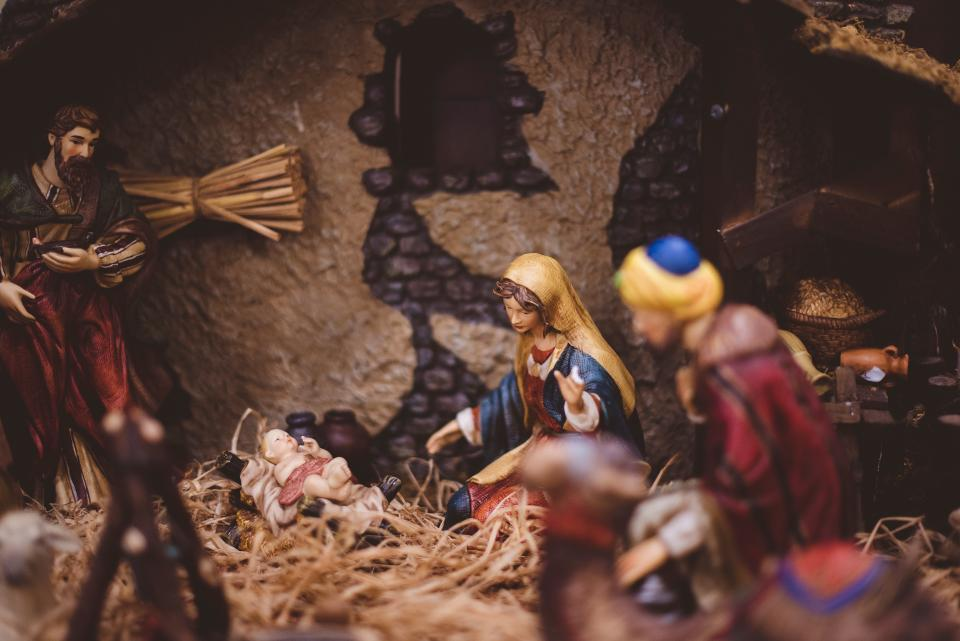 christmas, day, holy, family, figure, holiday, season, art, jesus, birth