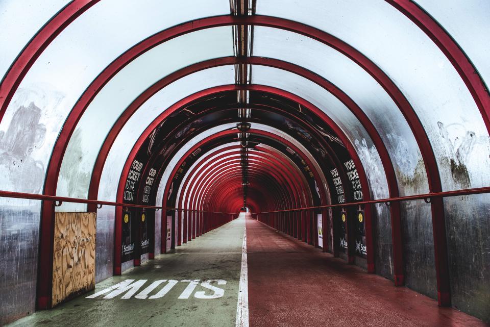 tunnel path slow architecture city urban