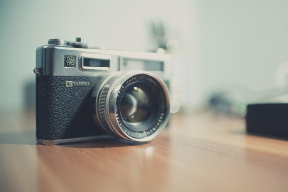 G Yashika camera slr lens photography technology
