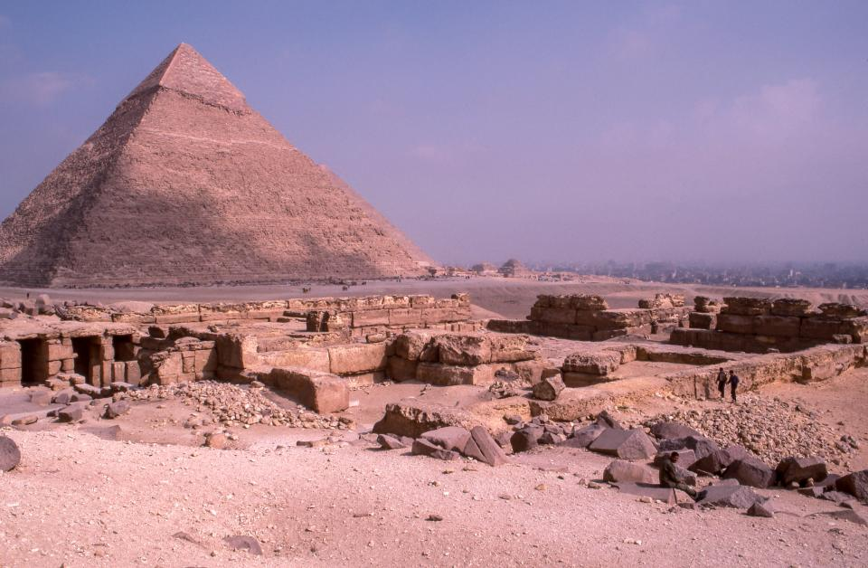 architecture, building, infrastructure, structure, tomb, culture, pyramid, egypt, blocks, stone