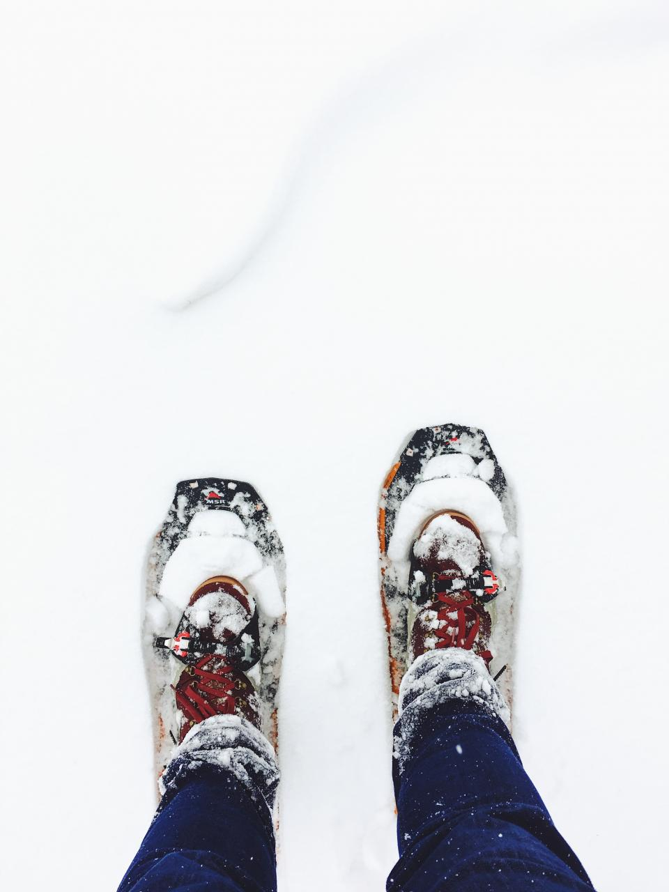 snow, winter, white, cold, weather, ice, people, feet, shoes