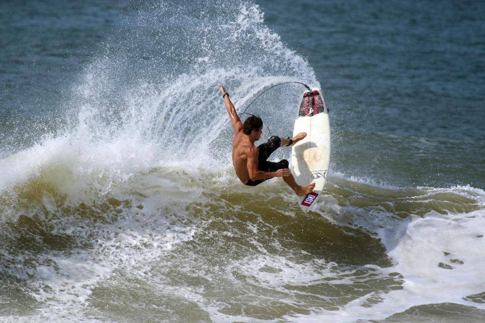people, man, sport, surfer, surfing, board, sea, water, splash, waves, ocean
