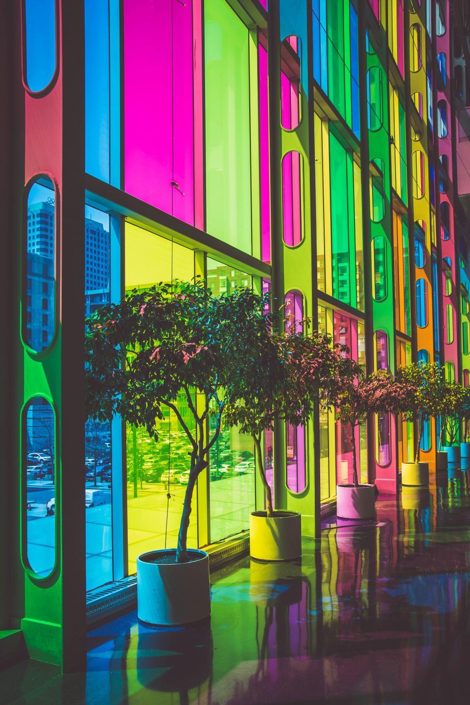 architecture, buildings, conventions, conference, meetings, galas, exhibitions, centers, urban, metro, art, colors, stained, modern, patterns, perspective,  palais des congrès de montréal, montreal, canada