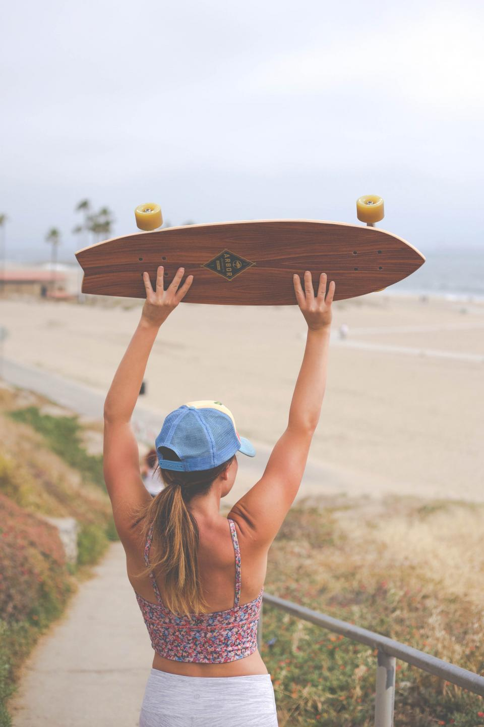 skateboard, people, girl, adventure, outdoor, landscape, travel