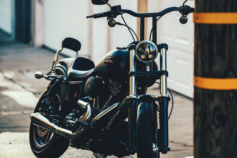 harley, davidson, motorcycle, company, black, vehicle, transportation, outdoor, travel