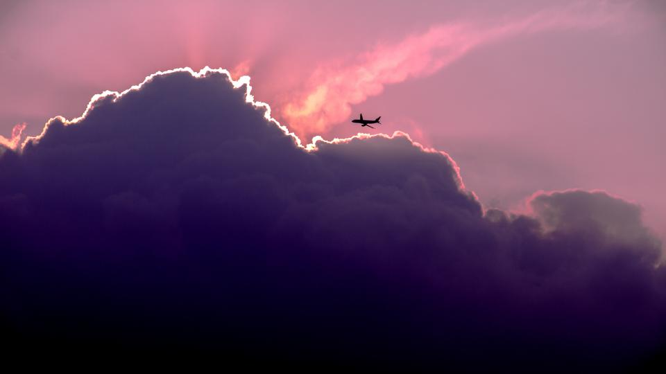 nature, landscape, airplane, clouds, sky, travel, adventure