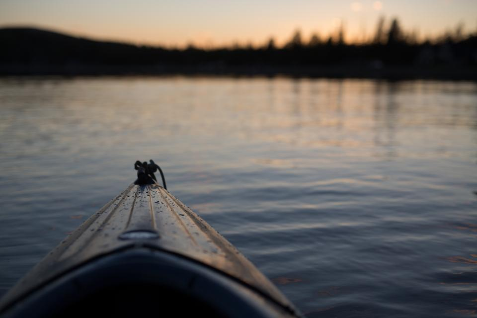 sea ocean water wave nature blur sunset boat