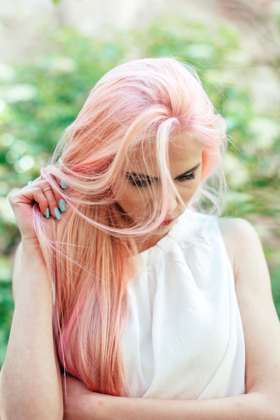 people, girl, woman, blonde, hair, hairstyle, manicure, makeup, salon, beauty