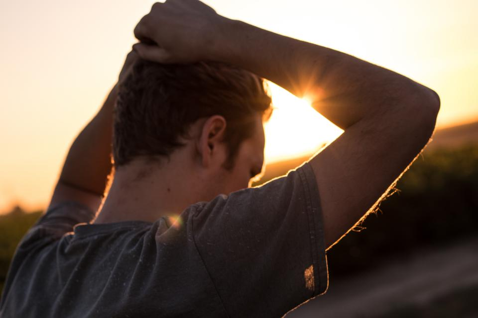 people man guy travel outdoor sunlight sunshine morning sunrise nature sky