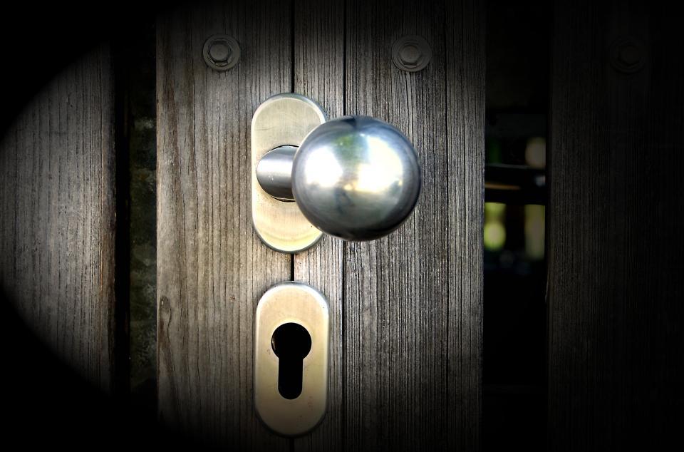 door, handle, steel, metal, dark