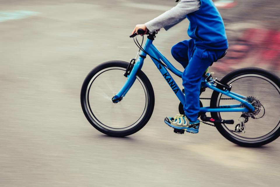 exercise, fitness, healthy, bicycle, biking, people, child, boy, blue