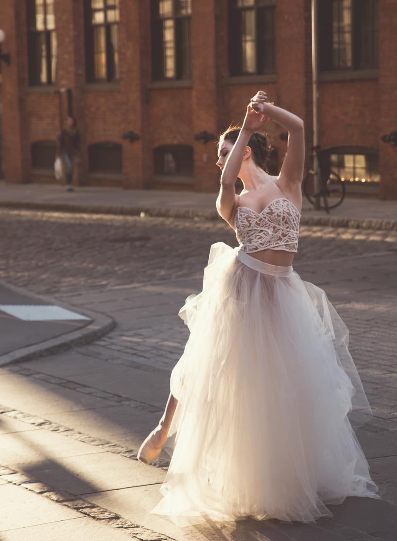 woman girl lady people stand dance ballet ballerina tutu street city metro romance beauty