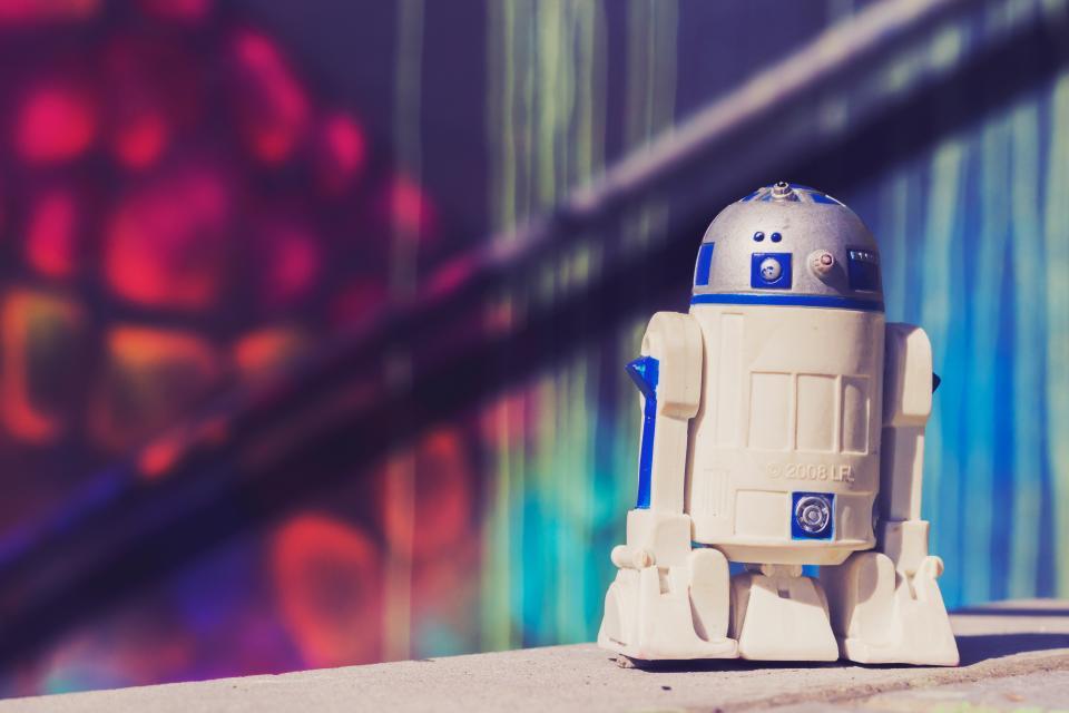 wall, graffiti, art, blur, robot, electronic, technology