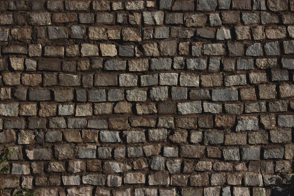 bricks wall stone texture pattern architecture