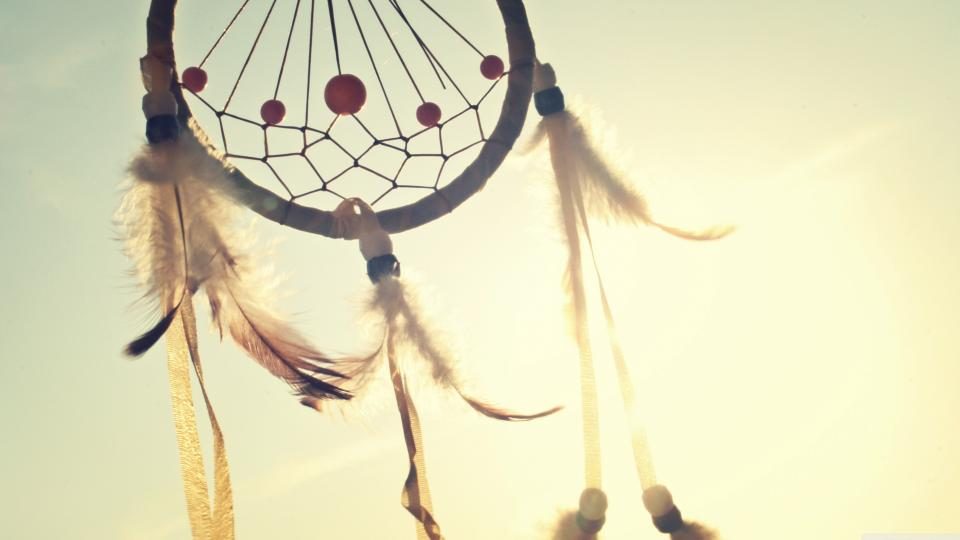 dreamcatcher sunshine sky sunrays