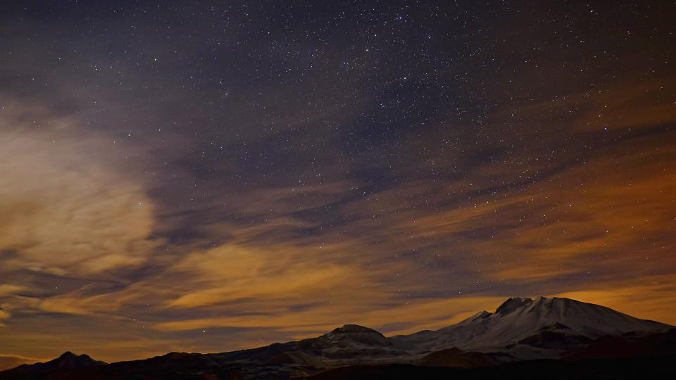 nature landscape clouds sky star stargazing shadow astrophotography mountain travel adventure
