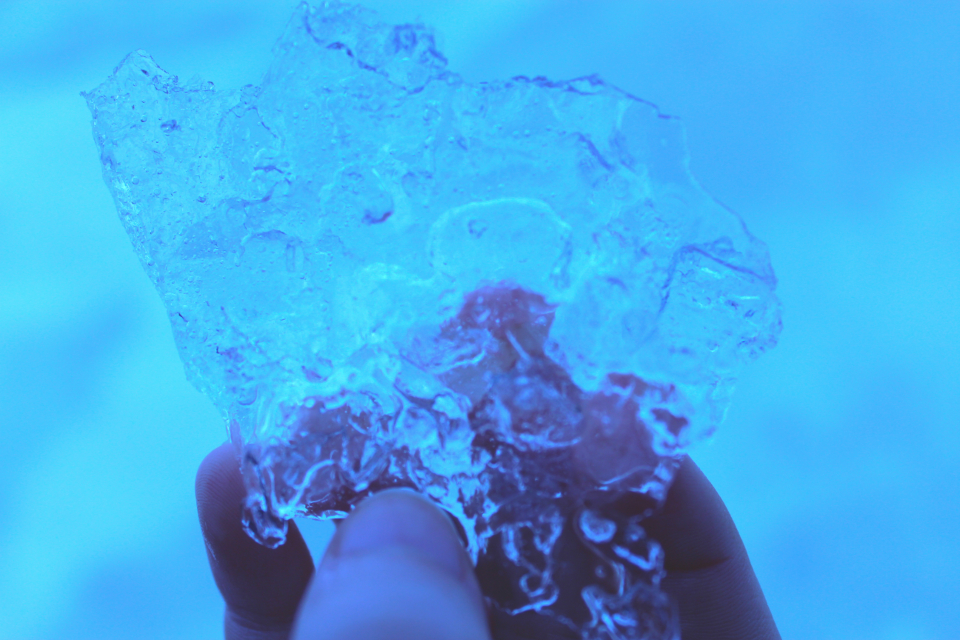 ice frozen freeze hand winter cold blue cool
