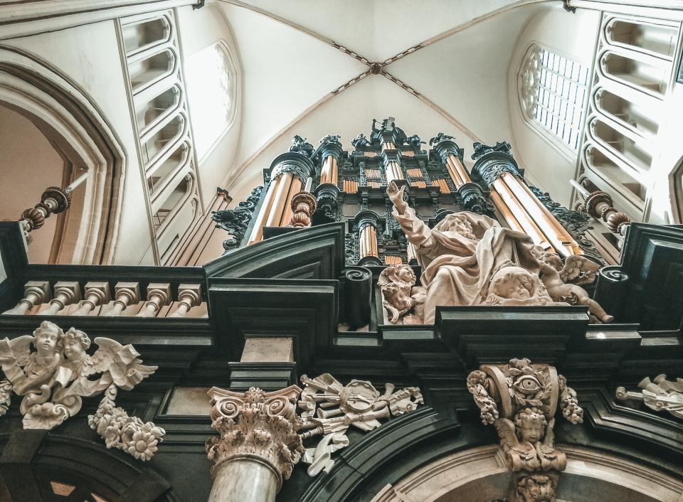 church, religion, roman, catholic, infrastructure, arts, sculpture, statue, angel, god, selling, wall, inside