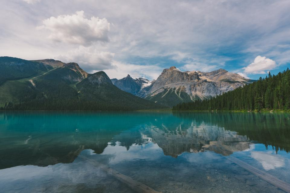 nature, landscape, mountain, clouds, sky, reflection, water, ocean, sea, river, lake, trees, woods, forest, travel, adventure