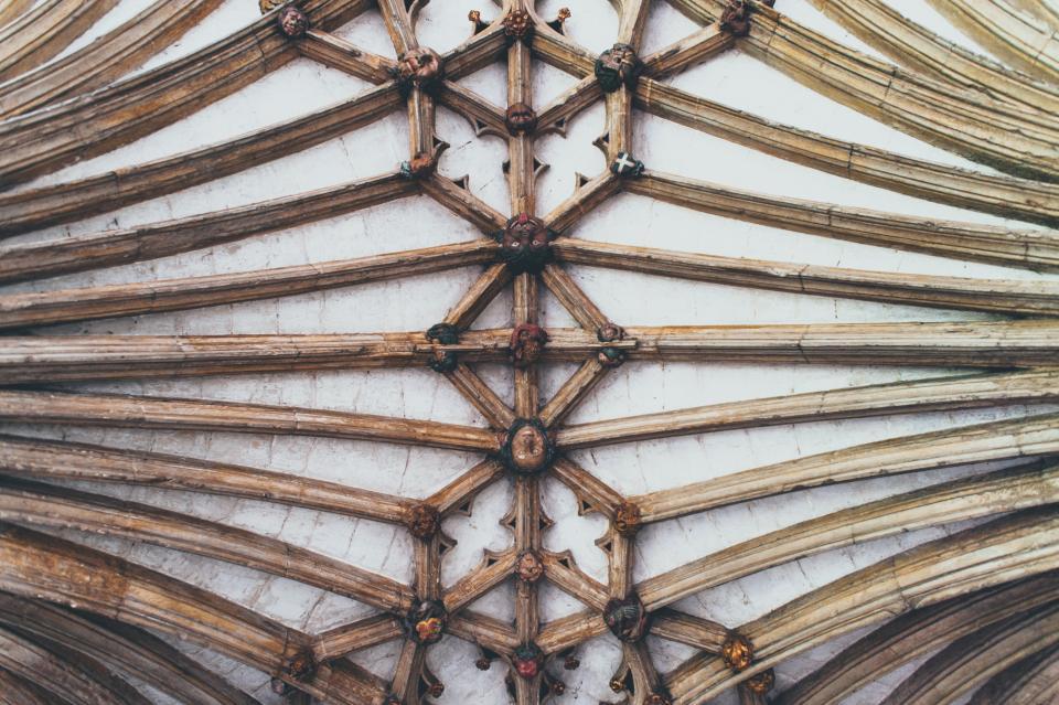 ceiling, architecture, art, design, sculpture