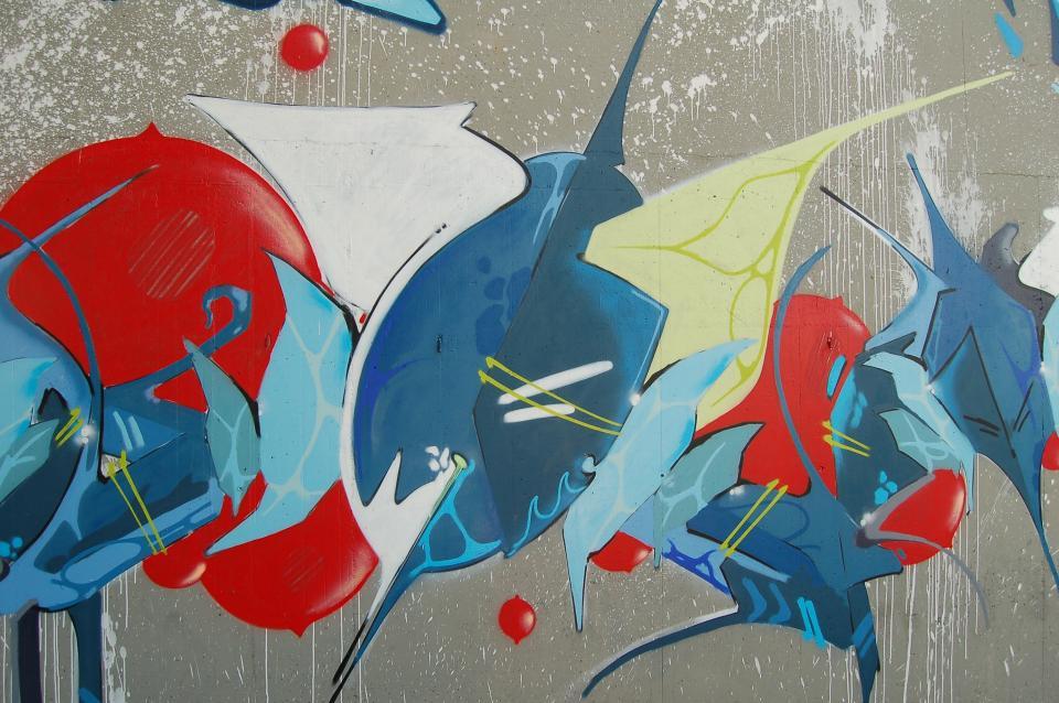 mural painting wall graffiti public art paint colorful