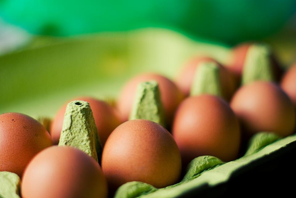 Telur dalam Wadah Karton via stocksnap.io
