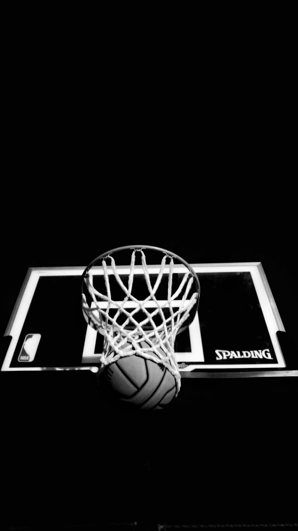 dark, ring, board, basketball, ball, sport