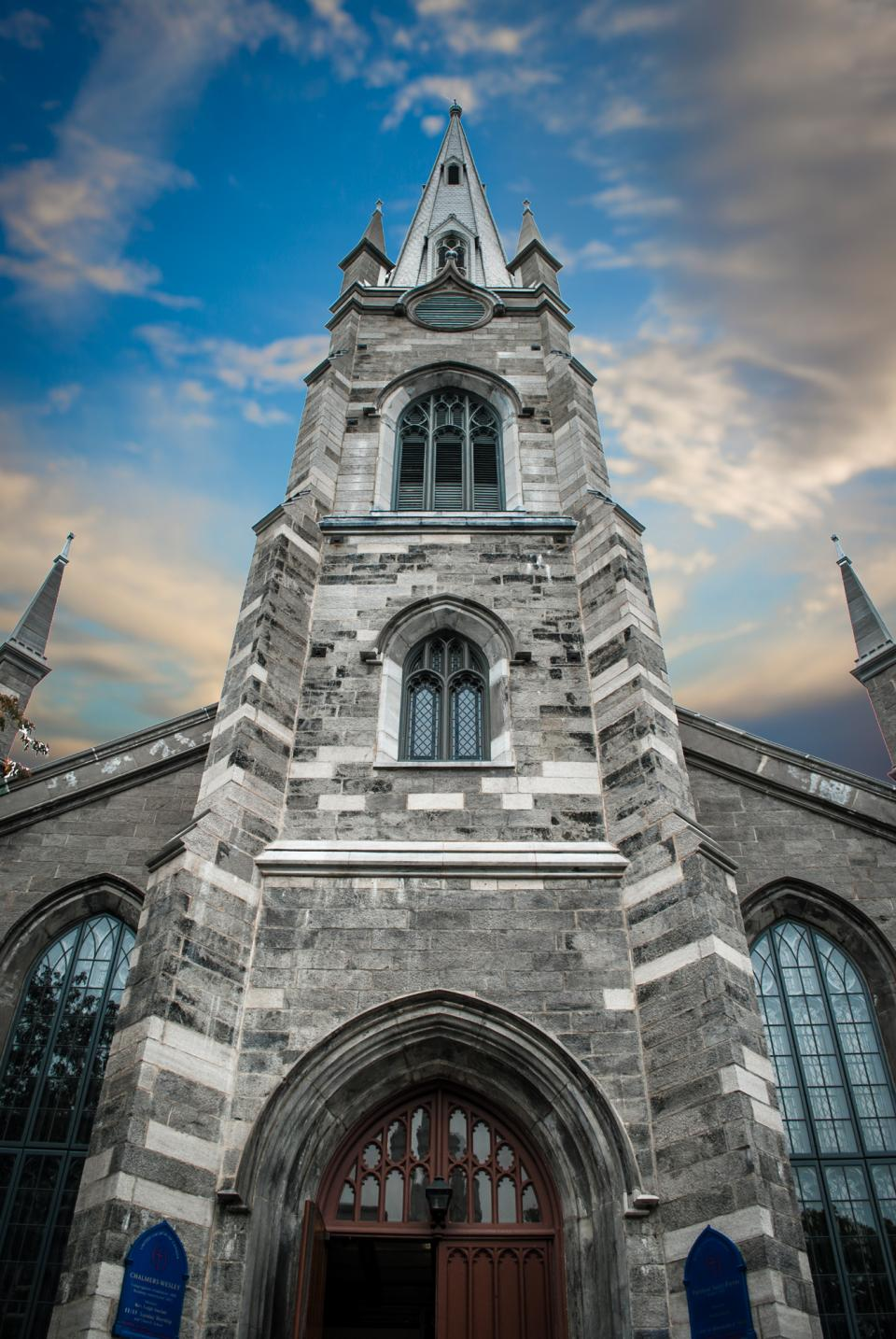 church, religion, catholic, building, architectural, , concrete, glass, window, door, wooden, sky, clouds