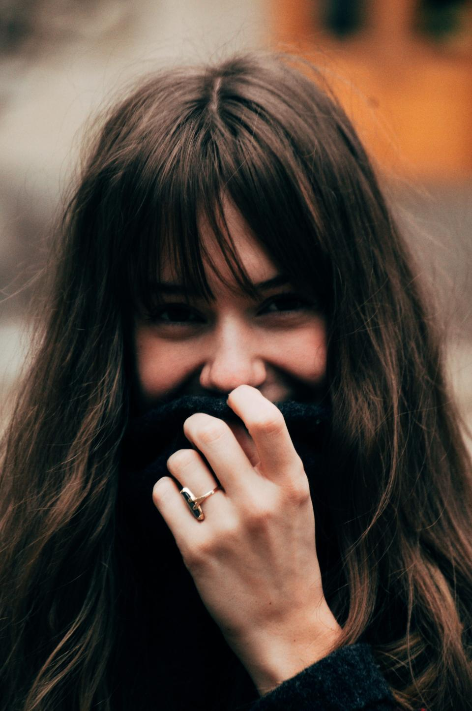 people, woman, girl, beauty, smile, happy, alone, hand, ring