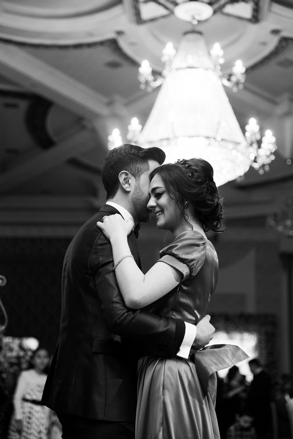 people, man, woman, female, male, hug, smile, happy, wedding, dance, black and white, party