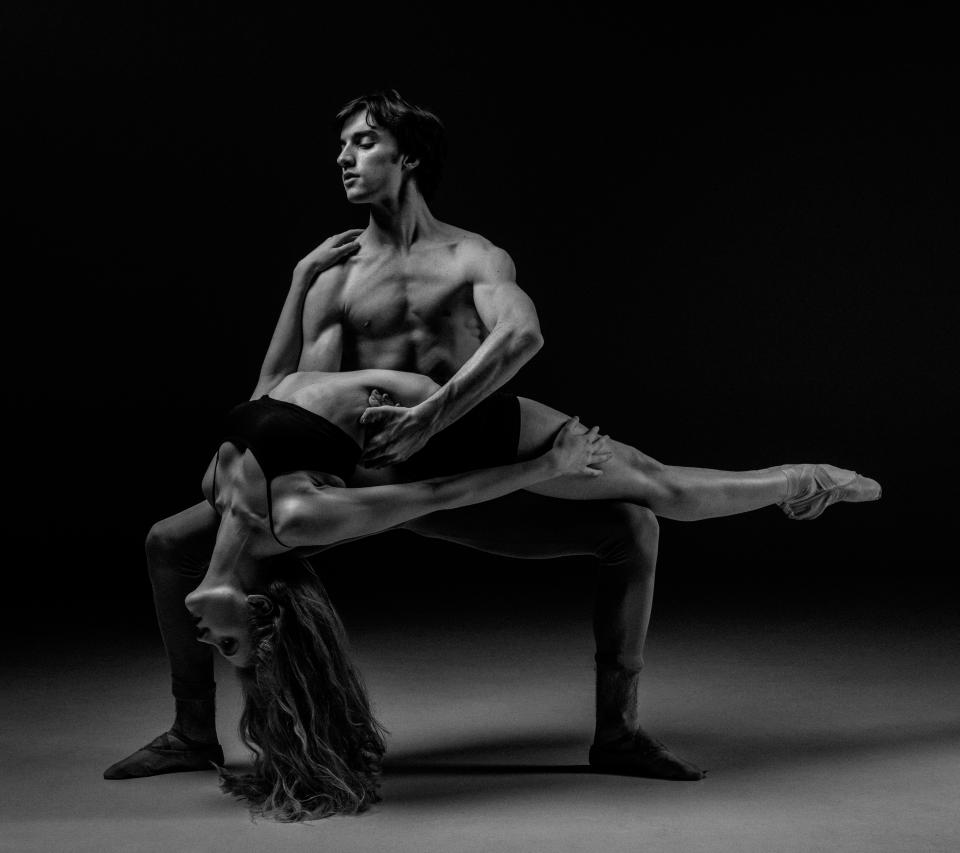 people, man, woman, dancing, dancer, black and white, art, performance, ballroom