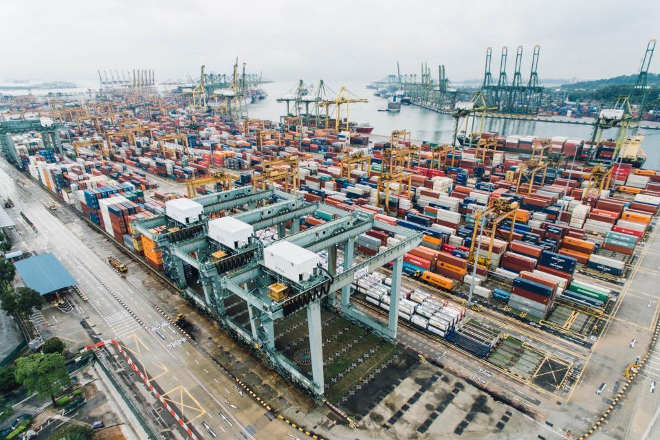 container, van, export, travel, cargo, wharf, block, transportation, architecture