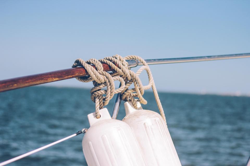 sea, ocean, water, waves, nature, rope, fishing, sailing