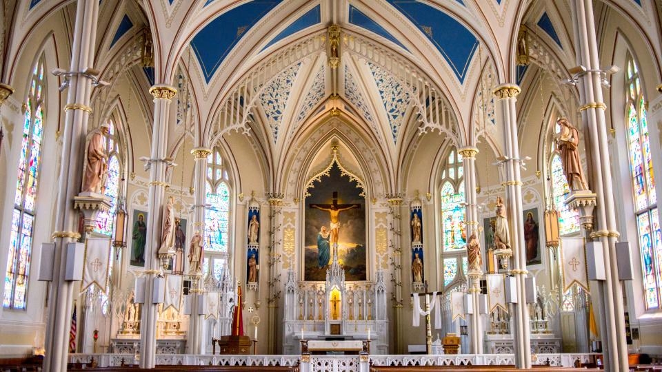 architecture, building, infrastructure, cathedral, church, altar, catholic, religion, faith
