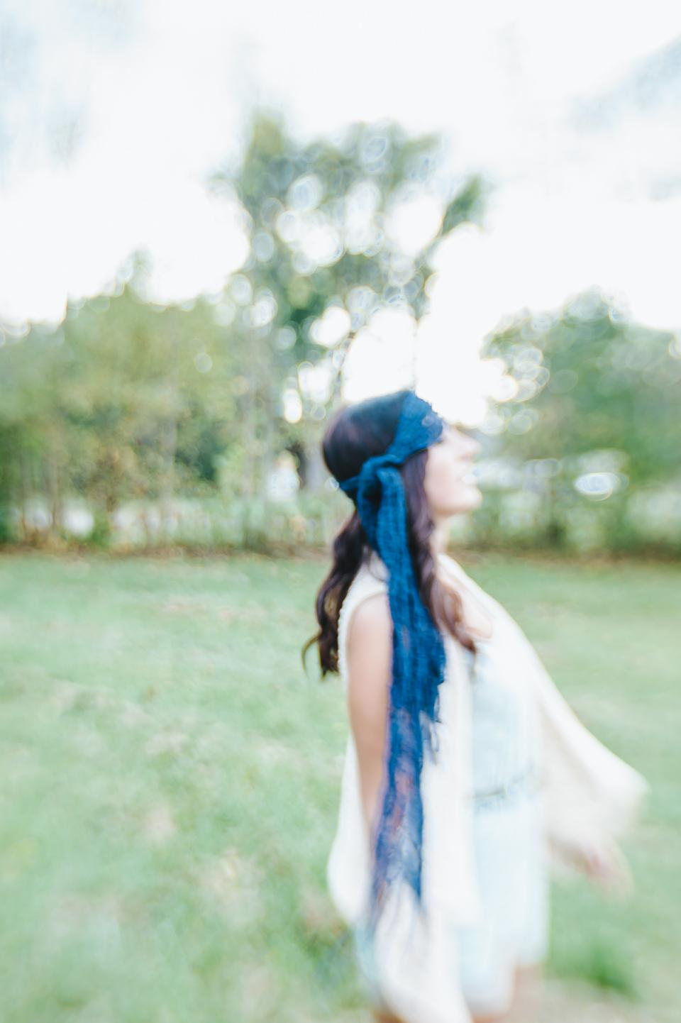 people, woman, fashion, bohemian, happy, enjoy, blur, bokeh, nature, green, grass, trees, leaves