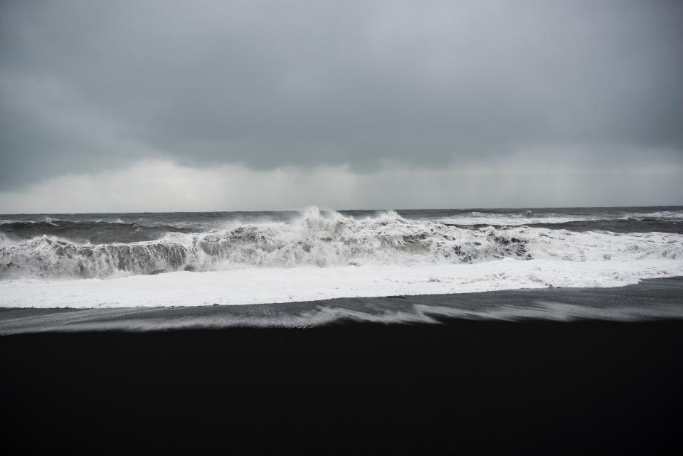 sea ocean water waves nature shore coast sand beach horizon sky outdoor